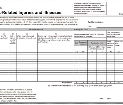 Is it Work-Related? OSHA Answers Common Recordkeeping Questions